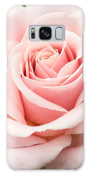 Vertical Pink Rose Galaxy Case