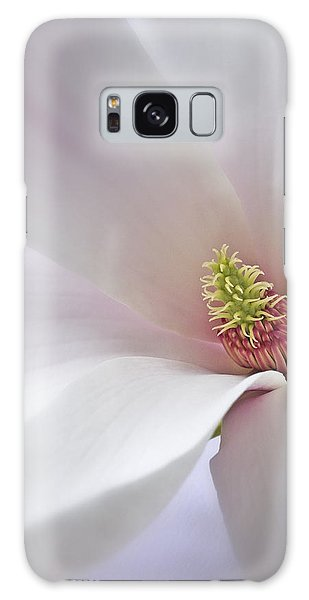 Vertical White Flower Magnolia Spring Blossom Floral Fine Art Photograph Galaxy Case