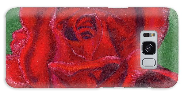 Very Red Rose Galaxy Case