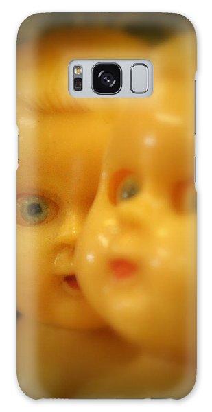 Very Scary Doll Galaxy Case by Lynn Sprowl