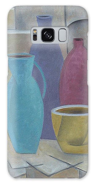 Vessels With Yellow Bowl Galaxy Case by Trish Toro