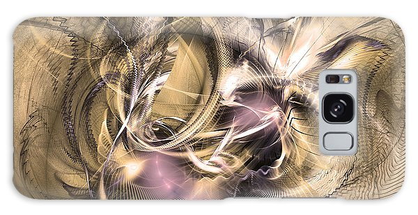 Vestigium Aeternum - Abstract Art  Galaxy Case