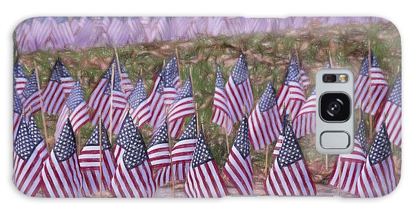Hundred Galaxy Case - Veterans Day Display Color by Joan Carroll