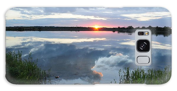 Veterans Lake Sunset Galaxy Case