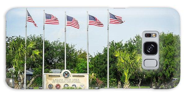 Veterans Memorial Laguna Vista Texas Galaxy Case