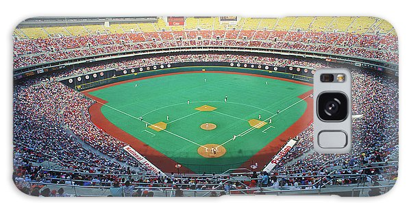 Astro Galaxy Case - Veterans Stadium During Major League by Panoramic Images