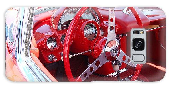 Vette Steering Wheel Galaxy Case