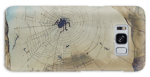 Vianden Through A Spider's Web Galaxy Case by Victor Hugo
