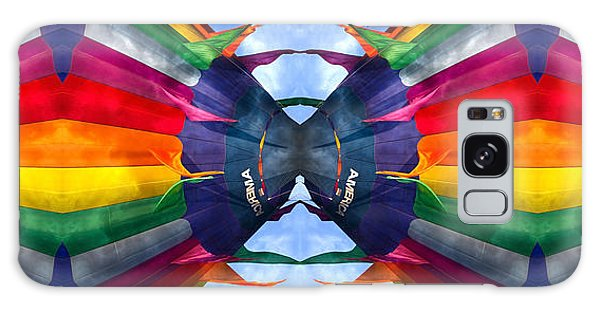 Hot Air Balloons Galaxy Case - Vibrance by Betsy Knapp