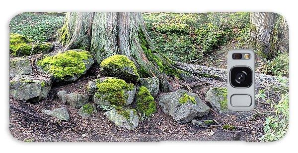 Vibrant Green Moss Galaxy Case by Jeanne Kay Juhos