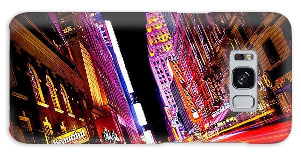 Vibrant New York City Galaxy Case