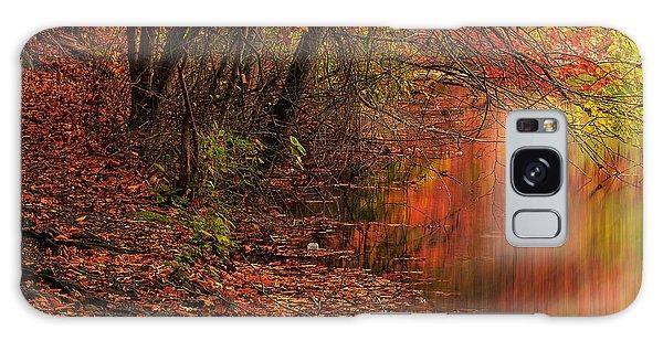 Vibrant Reflection Galaxy Case by Lourry Legarde