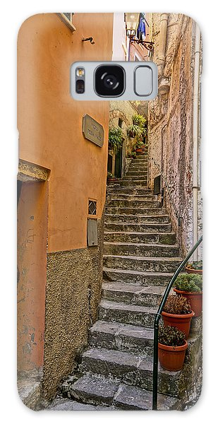 Vicolo Della Valle Riomaggiore Italy Dsc02537  Galaxy Case