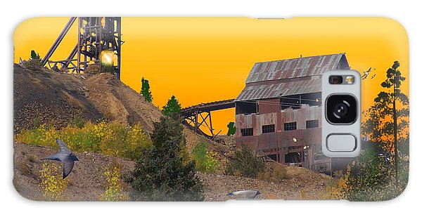 Victor Colorado Gold Mine Galaxy Case by J Griff Griffin