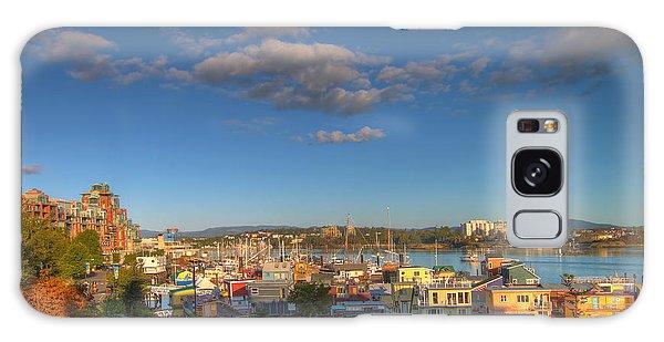 Victoria Bc Fisherman's Wharf Galaxy Case
