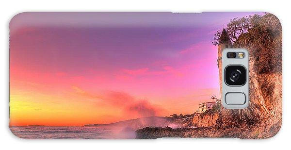 Victoria Beach At Sunset Galaxy Case