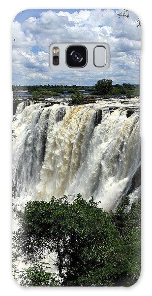 Victoria Falls On The Zambezi River Galaxy Case