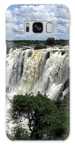 Victoria Falls On The Zambezi River Galaxy Case