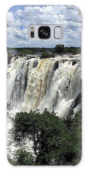 Victoria Falls On The Zambezi River Galaxy Case by Aidan Moran