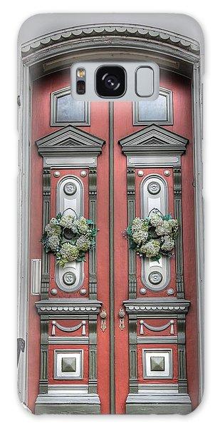 St Louis Mo Galaxy Case - Victorian Door by Jane Linders