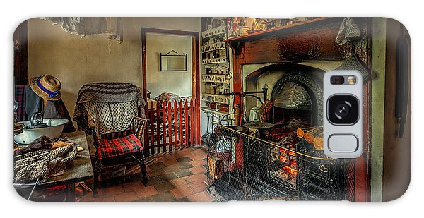 Cottage Galaxy Case - Victorian Fire Place by Adrian Evans
