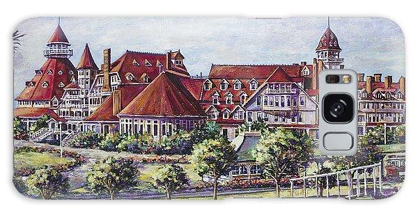 Victorian Hotel Del Galaxy Case