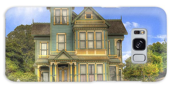 Victorian House Galaxy Case