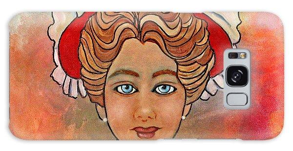 Victorian Lady-a Galaxy Case