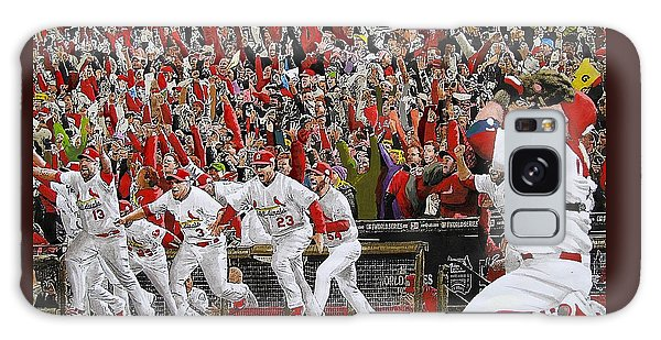 Baseball Galaxy Case - Victory - St Louis Cardinals Win The World Series Title - Friday Oct 28th 2011 by Dan Haraga