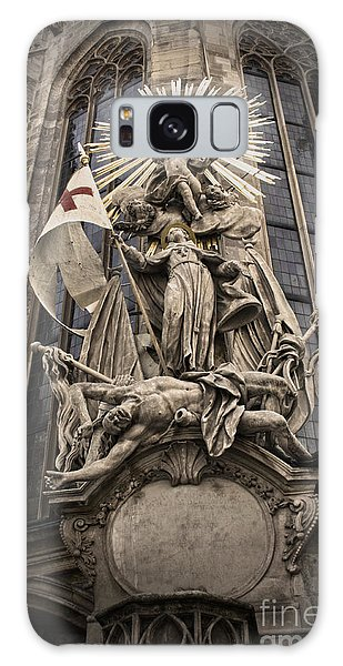 Vienna Austria - St. Stephen's Cathedral Galaxy Case by Gregory Dyer