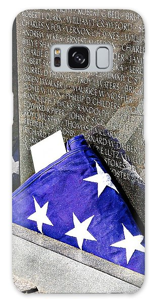 Viet Nam Memorial Washington Galaxy Case by Bob Pardue