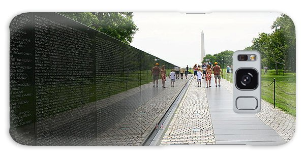 Vietnam Memorial 4 Galaxy Case