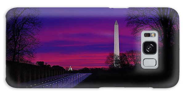 Vietnam Memorial Sunrise Galaxy Case