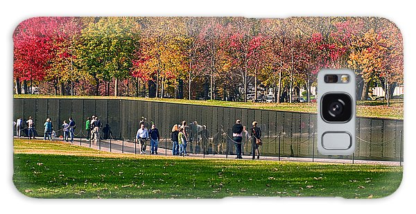 Vietnam Memorial Wall Galaxy Case