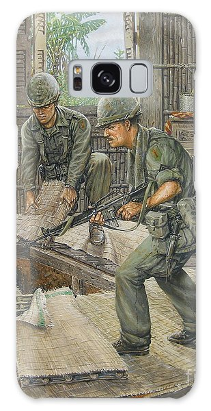 Vietnam Tunnels Galaxy Case by Bob  George