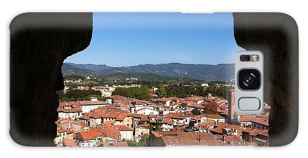 View From A Tower Window In Lucca Galaxy Case