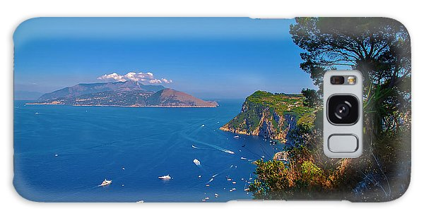 View From Capri Galaxy Case by Dany Lison