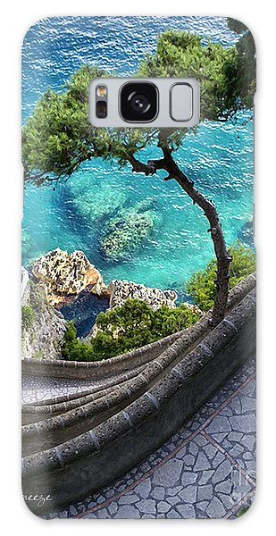 View From Capri.italy Galaxy Case
