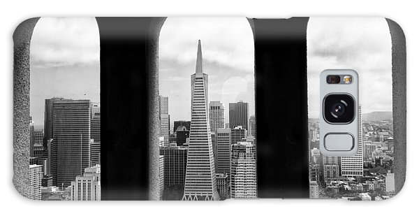 View From Coit Tower Galaxy Case by Celso Diniz