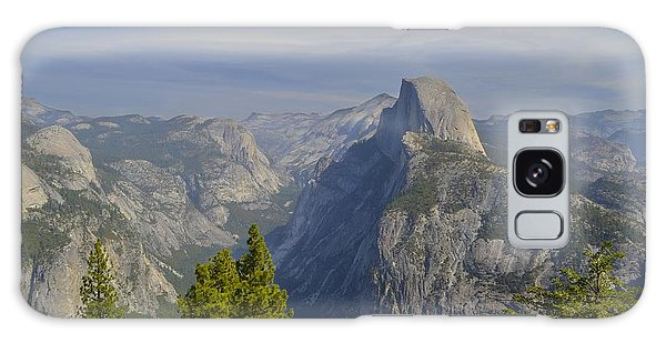 View From Glacier Point Yosemite Galaxy Case by Alex King