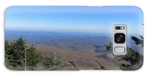 View From Grandfather Mountain 1 Galaxy Case by Kathy Long