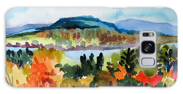 View From Kripalu In Fall Galaxy Case