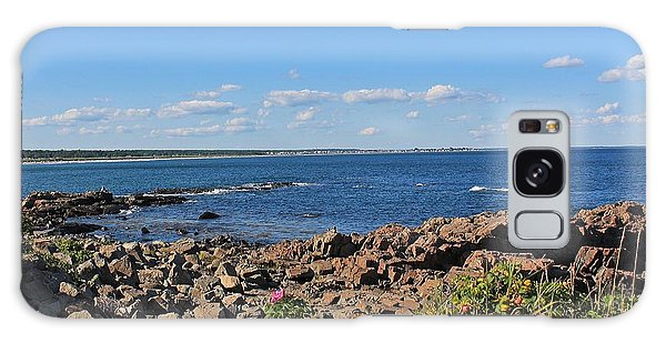 View From Marginal Way Ogunquit Maine 3 Galaxy Case