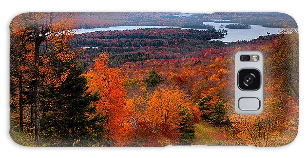New Leaf Galaxy Case - View From Mccauley Mountain II by David Patterson
