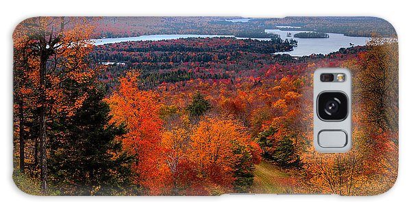 View From Mccauley Mountain II Galaxy Case by David Patterson