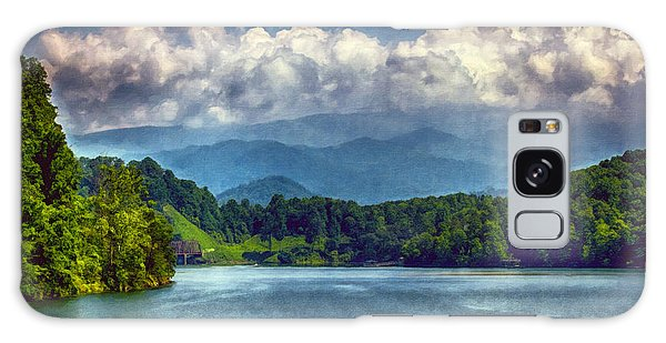 View From The Great Smoky Mountains Railroad Galaxy Case