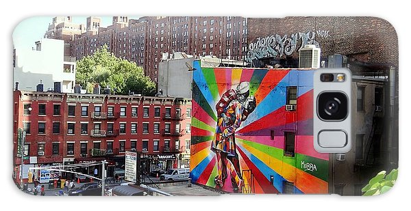View From The Highline Galaxy Case by Ed Weidman