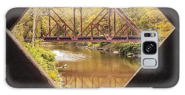 View From Worrall Covered Bridge Galaxy Case
