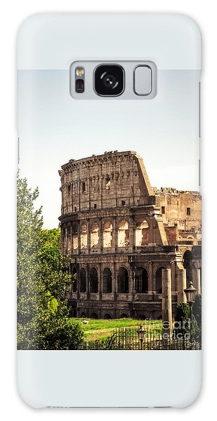 View Of Colosseum Galaxy Case