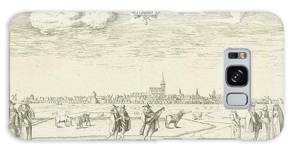 Pasture Galaxy Case - View Of Franeker 1598, Pieter Bast by Pieter Bast